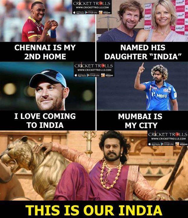 Everyone loves INDIA :) For more cricket fun click: http://ift.tt/2gY9BIZ - http://ift.tt/1ZZ3e4d