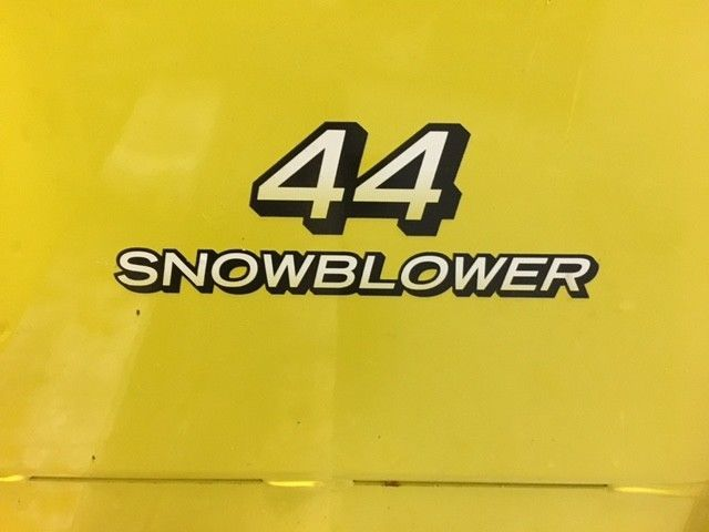 "John Deere 44"" Snow Blower for X300 through X360 Lawn Tractors"