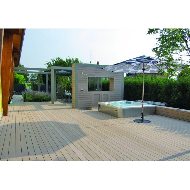 les 25 meilleures id es concernant lame composite cloture sur pinterest lame de terrasse. Black Bedroom Furniture Sets. Home Design Ideas