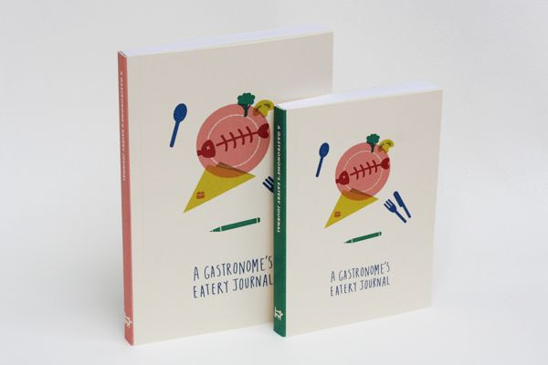 Desain Notes Book - Stationery Range for Gastronomes