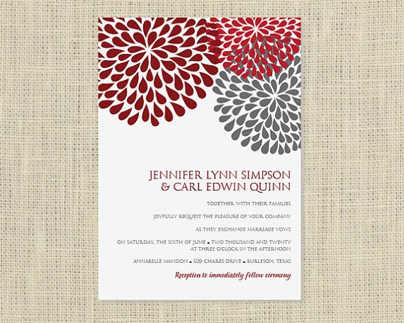 Wedding Invitations Fonts In Microsoft Word: Printable Wedding Invitation Template
