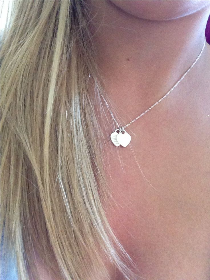 Tiffany necklace. With a small engraving on the back would be so cute