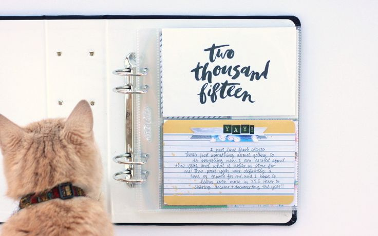 Project Life Title Page by photochic17 at @studio_calico