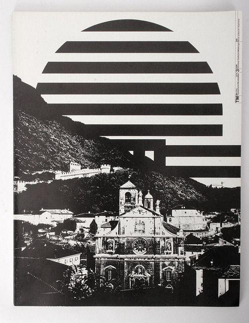 Typografische Monatsblätter Nr. 3, 1978 Mai/Juin 97.  Cover design : Gregory Vines