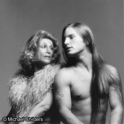 Sylvia Miles with Joe Dallesandro