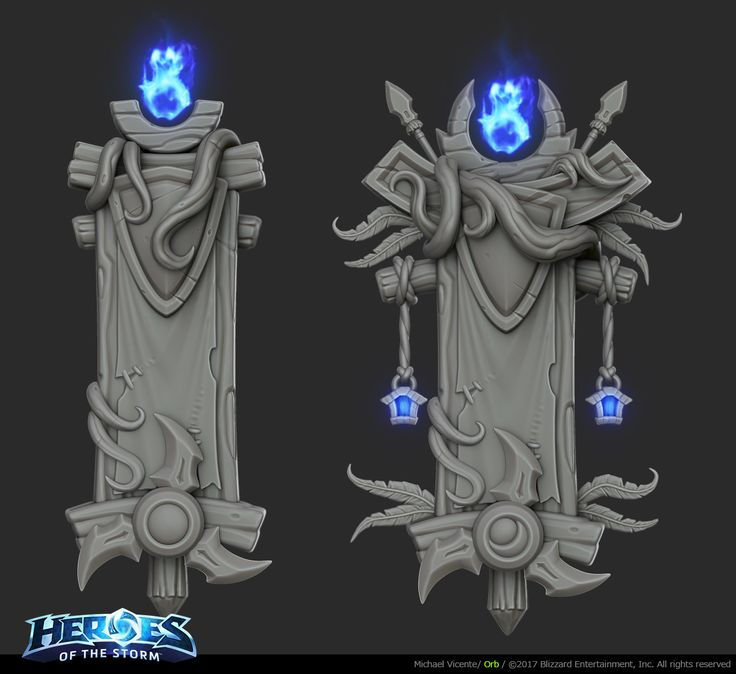Hi, here's some stuff I did for the Heroes of the storm 2.0 update as a senior 3D Environment Artist.
