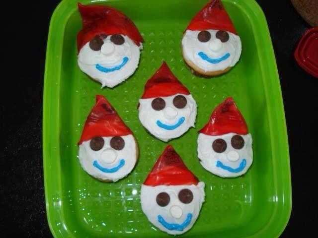 Cupcakes  bonhomme Carnaval de Qc