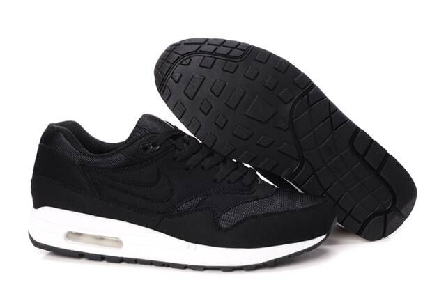 Nike Air Max 1 Black Black Sail Men's Sneakers