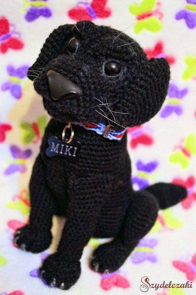Crochet Labrador Miki :)