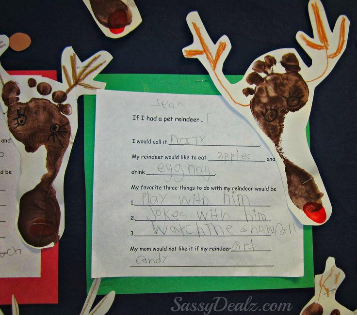 reindeer footprint bulletin board