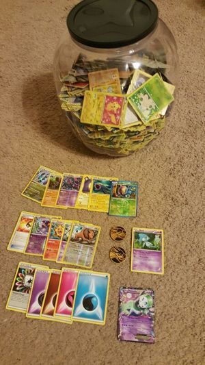 Pokemon Barrel over 500 cards including over 30 Halo, 11 Rare, Mythical and Legendary! in San Antonio, TX (sells for $45)
