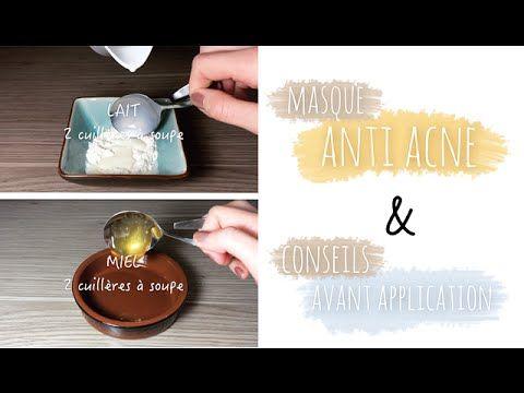 DIY Masque maison anti acné   2 recettes + Conseils d'application - YouTube