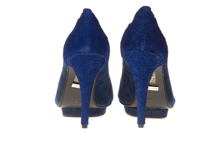House of Grandeur boutique - 014 537 2557  BLUE PLATFORM HEELS R950 — at Platinum Square.