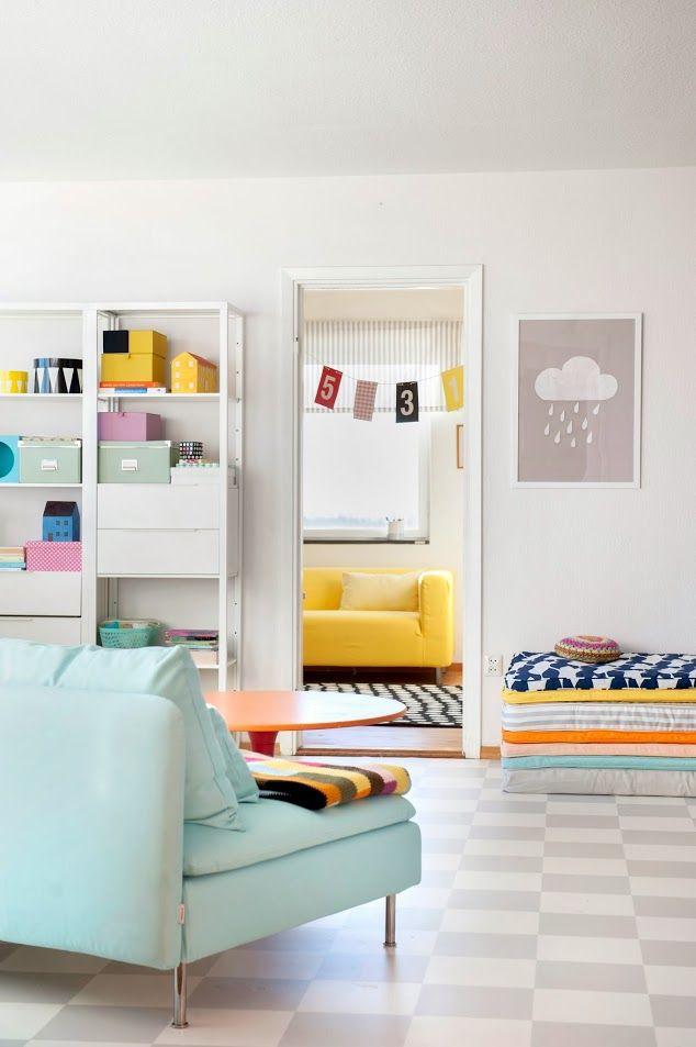 färgerna. soffan