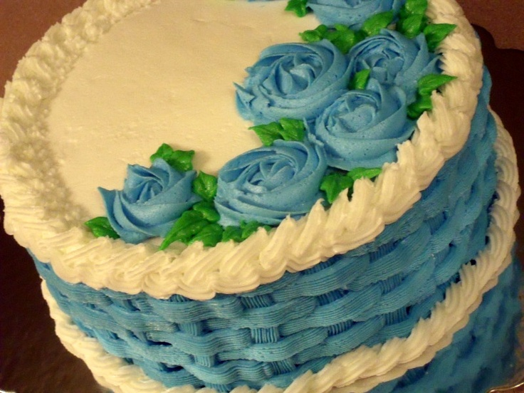 Cool Cake Decorating Ideas Basket Weave