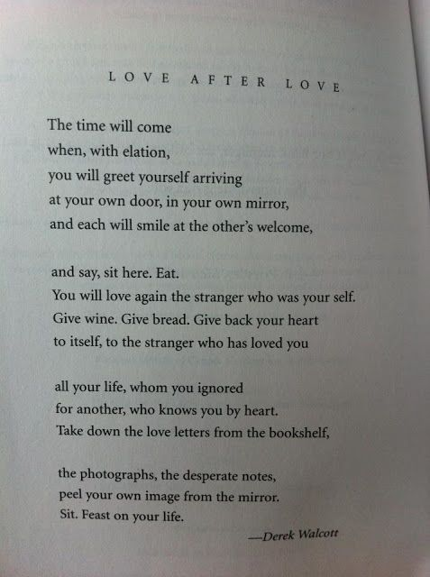 love after love poem by derek walcott poem hunter - 477×640