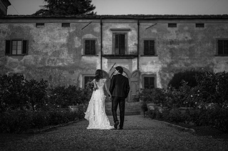 Wedding at Villa Medicea di Lilliano - picture by Stefano Cassaro