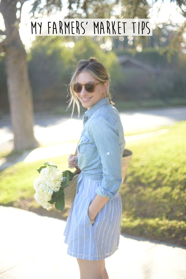 Tips to Navigating a Farmers' Market | Cupcakes & Cashmere