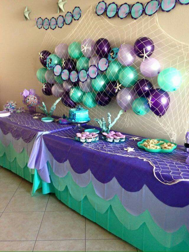 17 best ideas about mermaid baby showers on pinterest for Baby shower decoration sets