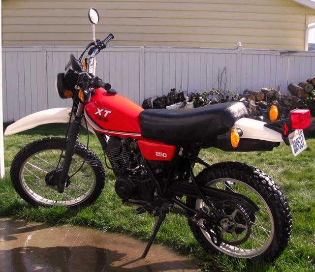 1981 Yamaha XT250 red | Yamaha Dirt Bike | Yamaha 250, Yamaha motor