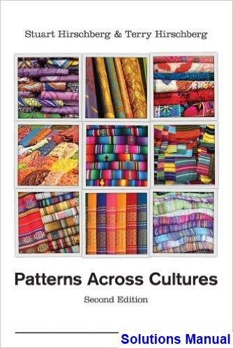 Patterns Of Culture Pdf