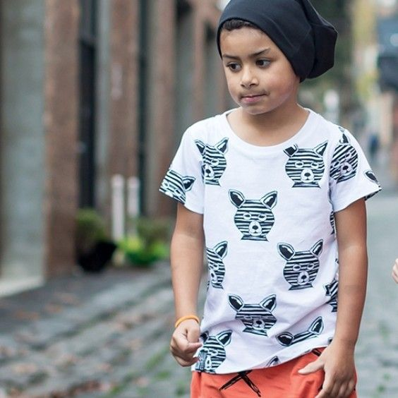Bandit Kids Fox on the Run Tee - Cream