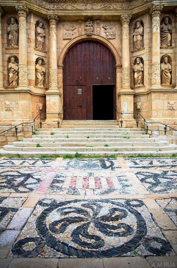 Santa Maria de Montblanc. Tarragona  Catalonia