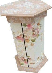 Porta Papel Toalha Flores - Mayumi Takushi