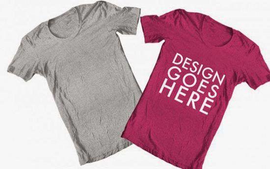 http://www.ultraupdates.com/2014/08/free-blank-t-shirt-mockup-psd-templates-designs/