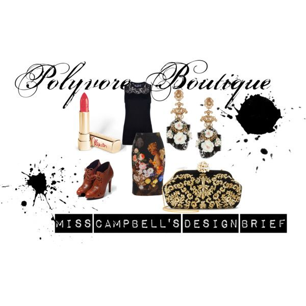 """Design brief - Dolce & Gabbana"" by emmacampbell-1 on Polyvore"