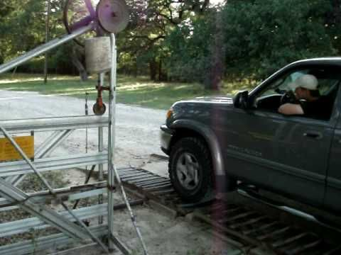Automatic Gate Homemade Automatic Gate Opener