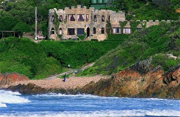 Noetzie Castle, Knysna Our stay here was fantastic - a private beach to ourselves. and dolphin watching from our window