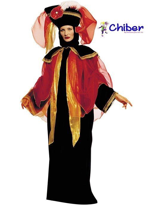 Disfraz Veneciano para mujer: Napoleón Bonaparte prohibió en 1797 la celebración del carnaval cuando ocupó Venecia. El emperador francés sintió resquemores y un gran miedo de que, otra vez protegidos por los disfraces, los ciudadanos venecianos pudieran reunirse al amparo del anonimato y de los festejos para conspirar contra él.