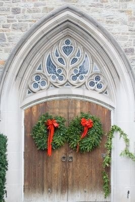 28 best Christmas Church Decorations images on Pinterest