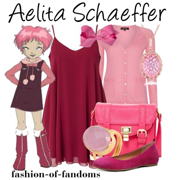 """Aelita Schaeffer"" by fofandoms on Polyvore"