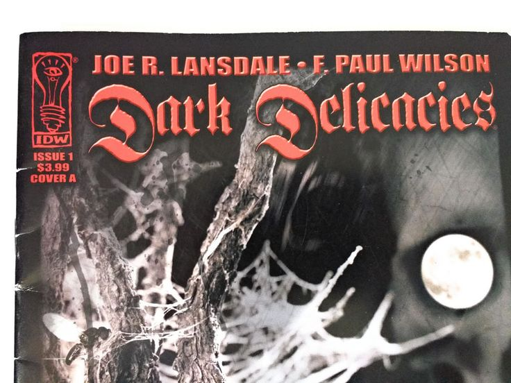 Dark Delicacies Issue 1 Cover A / Joe R. Lansdale & F. Paul Wilson