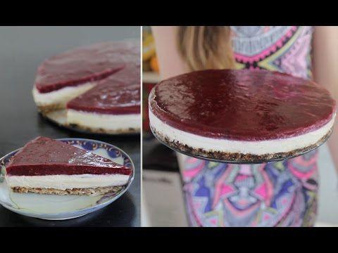 Vegan Cheesecake - Delicious - YouTube