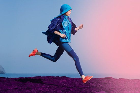 bright colours, purples, blues, action: Mccartney Stores, Adidas Stella Mccartney, Adidas Design, Sports Bras, Adidas Open, Style Meeting Sportswear, Nike Shoes, Club Design, Stellamccartney