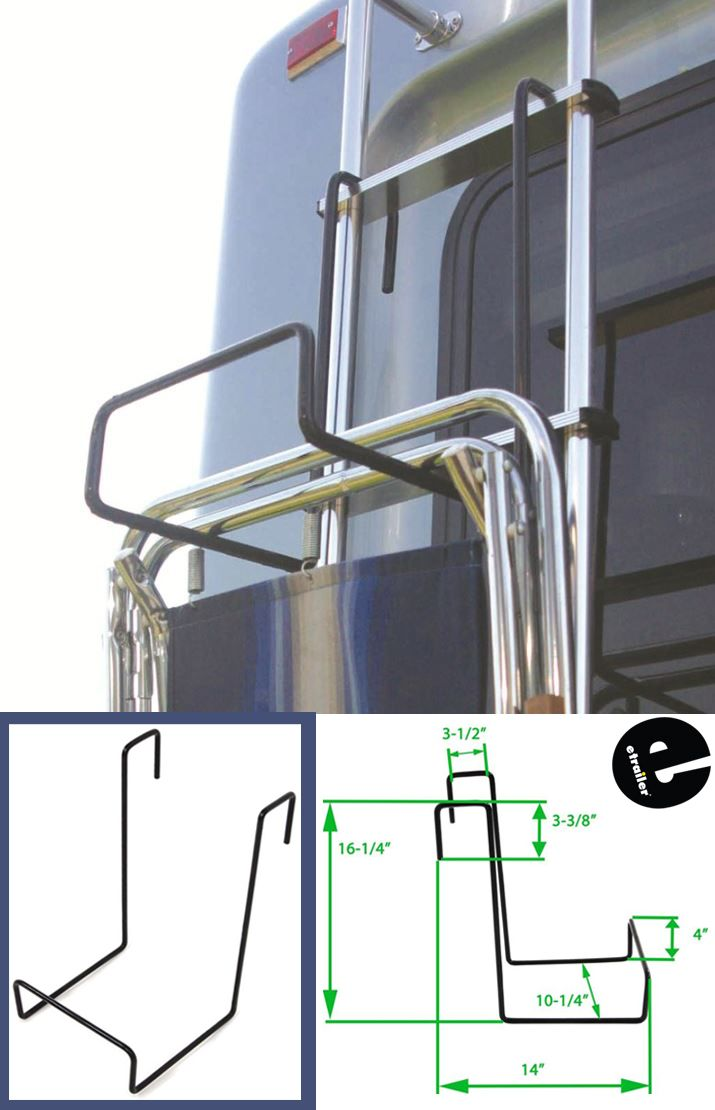 Camco Chair Rack For Rv Ladders Steel Camco Rv Cargo Cam51490 With Images Rv Floor Plans Camco Travel Trailer Floor Plans