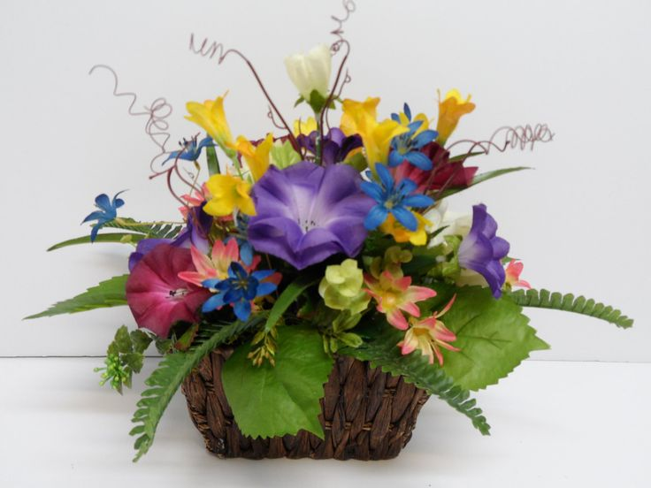 Centerpiece Arrangement Spring Dining Room Table Occasional Colorful