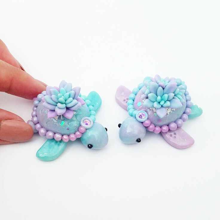 "1,437 Likes, 47 Comments - Janice M. (@claybiecharms) on Instagram: ""Hey everyone!! So glad to see everyone loving these Mertles. These two twins were the first to…"""