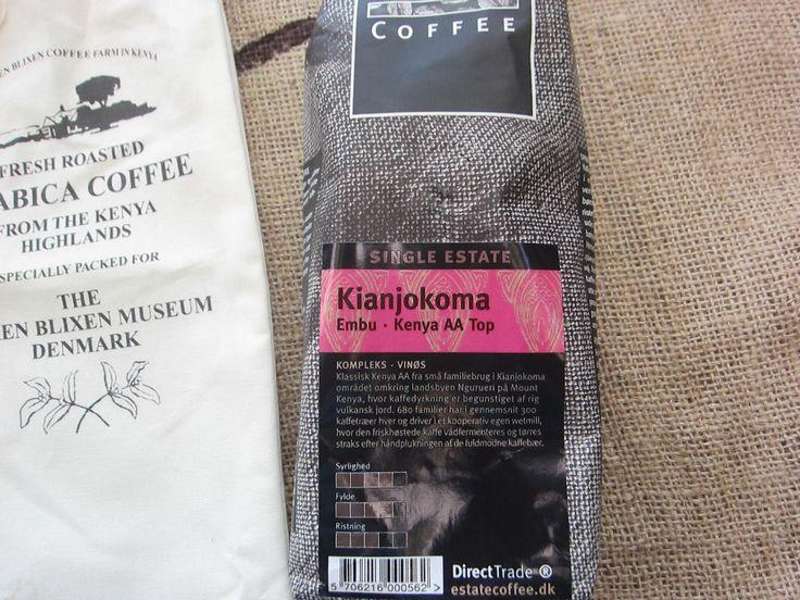 Estate Coffee Kenya Kianjokoma. Very nice coffee