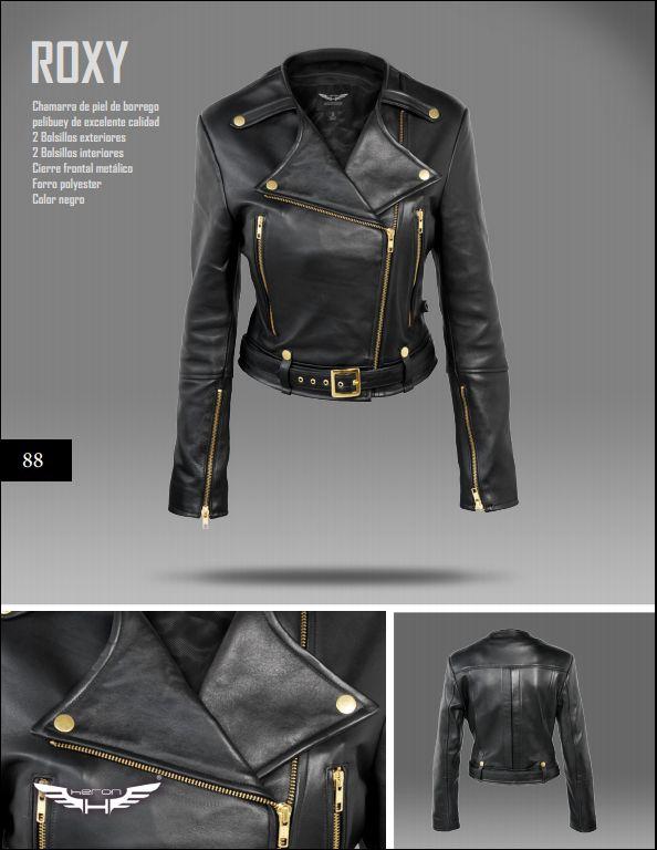 #Chaqueta modelo Roxy negra. #moda