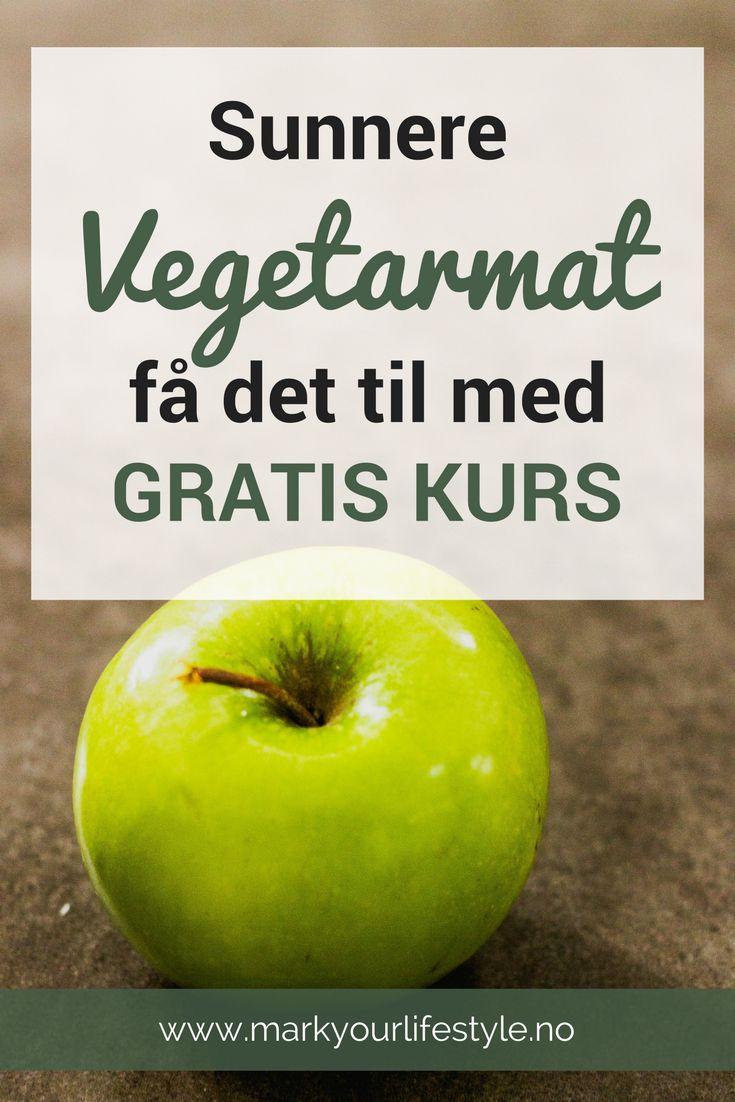 Lyst å lage digg vetararmiddag - skikkelig god, og sunn mat? Da er dette gratiskurset for deg! Lær hva som skal til for å lykkes med sunn vegetarmatlaging.