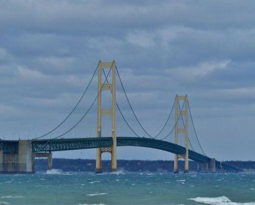 BEST QUOTES ABOUT LOVE- Via 10 Most Famous Bridges In The World  Mackinac Bridge