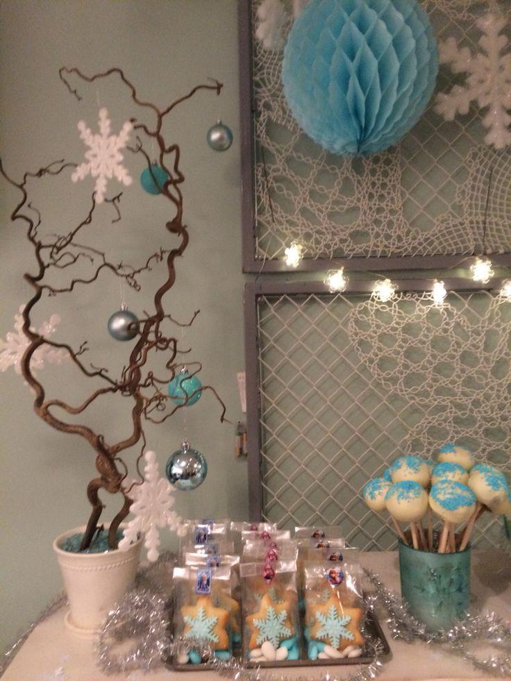 Frozen decorations