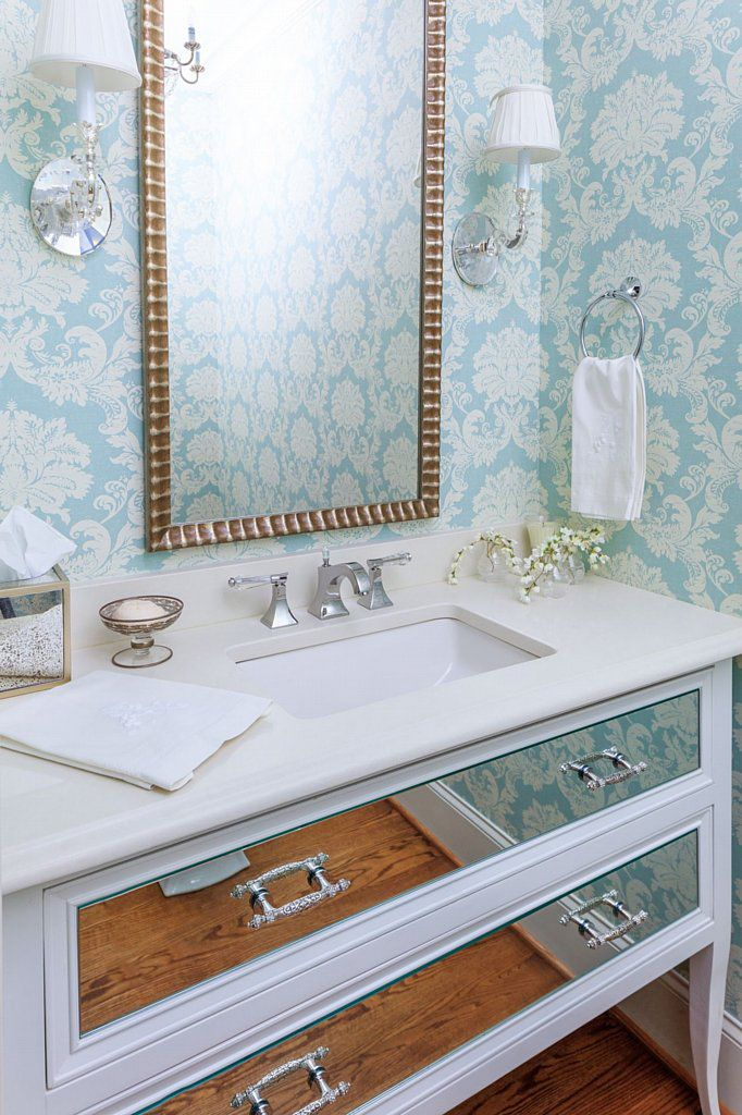 Fairview Row Bathroom Wallpaper Trendy Bathroom Boho Bathroom