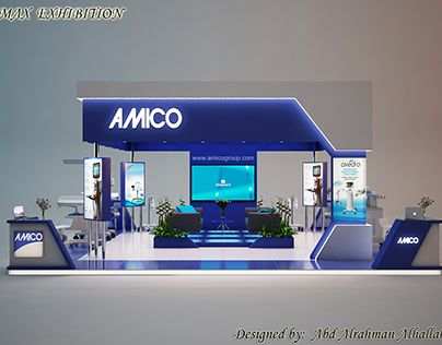 """Check out new work on my @Behance portfolio: """"Exhibition stand for medical company AMICO ."""" http://be.net/gallery/54257689/Exhibition-stand-for-medical-company-AMICO-"""