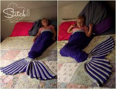 I will do my best to share with everyone how I made this mermaid blanket. I had…