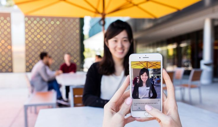 Microsoft app helps blind people see the world with AIMicrosoft has launched an iPhone app designed to help blind and partially-sighted people better navigate the world. The app Seeing AI uses 'computer vision' to narrate the user's surroundings read text describe scenes and even identify friends' f... Credit to/ Read More : http://ift.tt/2vcLedt This post brought to you by : http://ift.tt/2teiXF5 Dont Keep It Share It !!